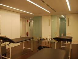 Dbac Lleida - Sala rehabilitación. Medicina deportiva, Traumatología  y cirugía ortopédica, Reumatología